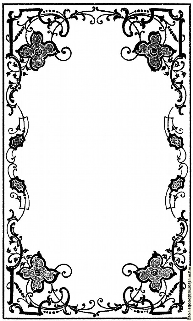 Victorian Corner Border Early Victorian Border From