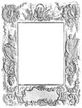 Ornate Victorian border or frame