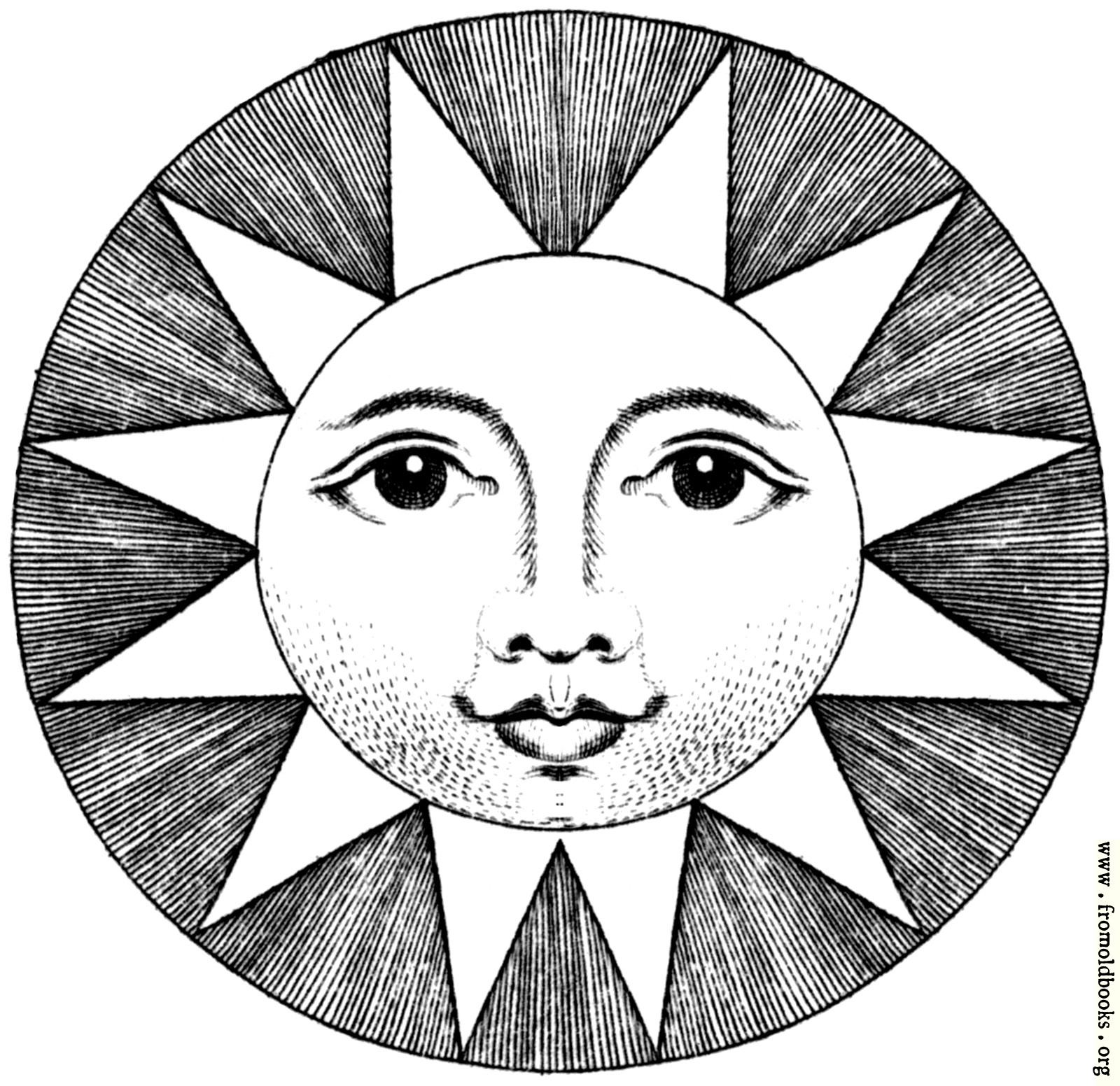faces-clip-art-black-and-white