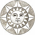 [picture: Plate XLII.---Astronomy: detail: the face of the sun.]