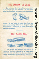 Page 1: The Enchanted Case and The Magic Box.