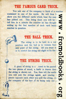 Page 3: The Famous Card Trick, The Ball Trick and The String Trick.