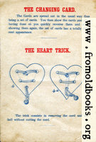 Page 4: The Changing Card and The Heart Trick.
