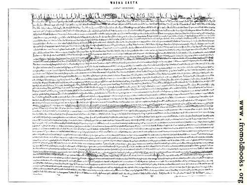 [Picture: Magna Carta]