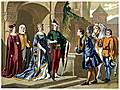 Costumes, A.D. 1380.