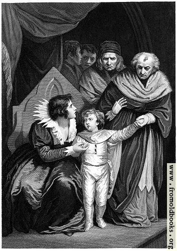 [Picture: Elizabeth Woodville Surrendering Her Son]
