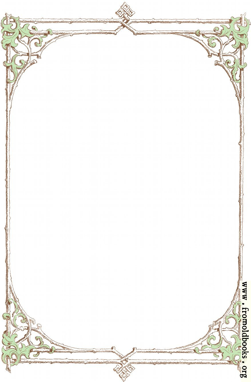 free victorian clip art frames - photo #20
