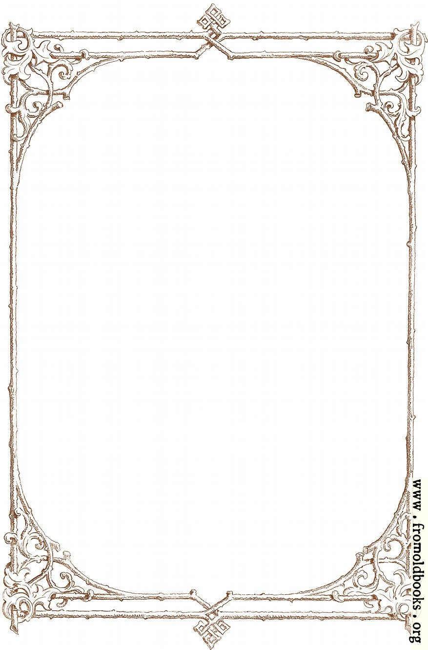 Free clip-art  Victorian border of brown twigs detailsVictorian Style Borders