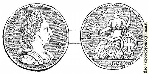 [Picture: Halfpenny, William III]