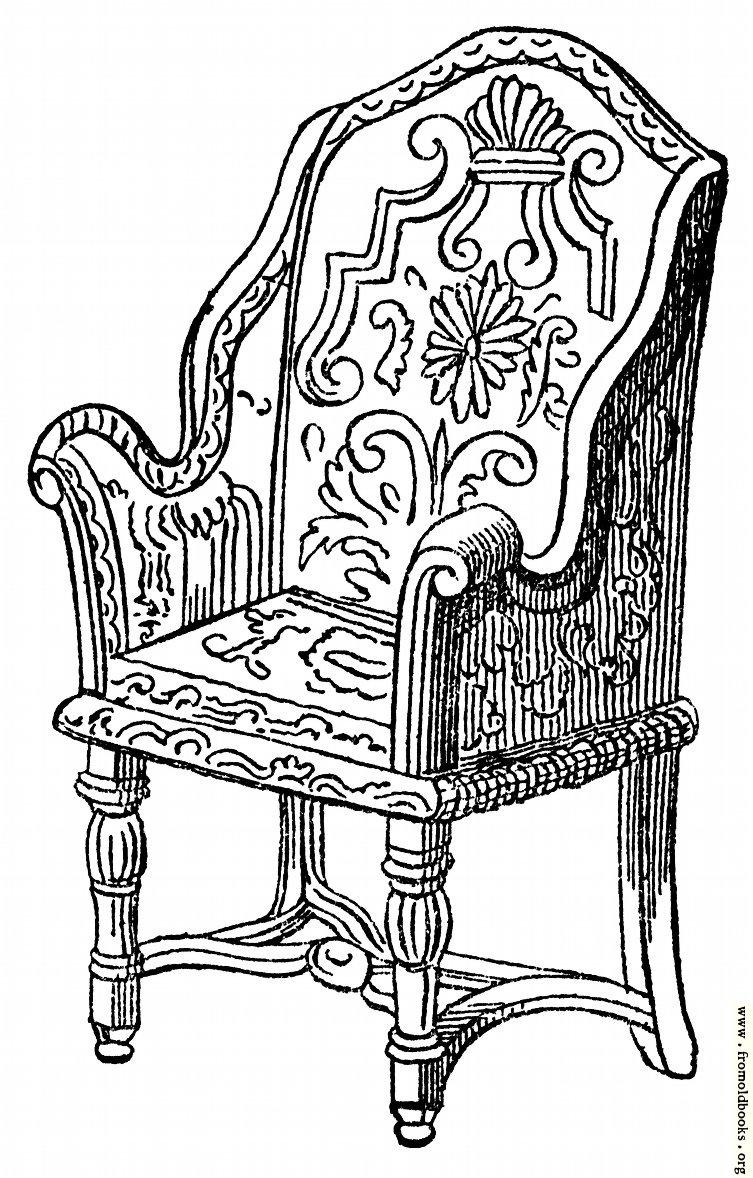 Queen Anne Chair History vol3-471-Furnit...
