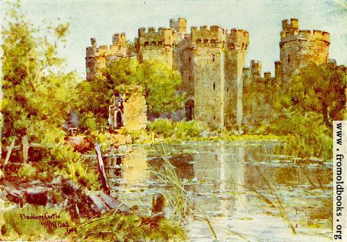 [Picture: Bodiam Castle]