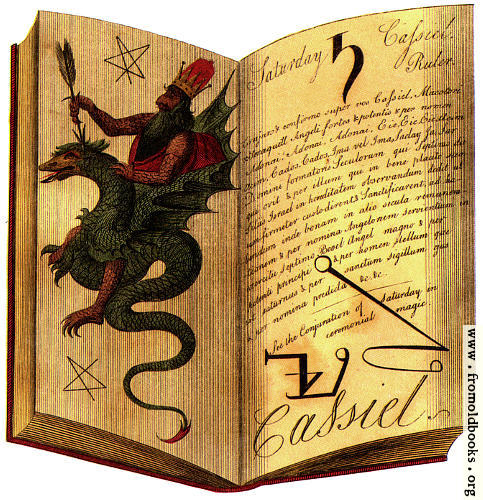 [Picture: Book of Spirits: detail: the Open Book]
