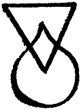 [picture: Astrological symbols for Friday: Angelic Sigil for Anael]