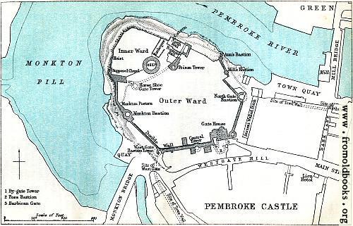 [Picture: Pembroke Castle (Plan)]