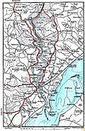 Map: River Wye, Chepstow, etc.