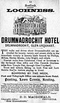 Old Advert: 12: Drumnadrochit Hotel at Lochness