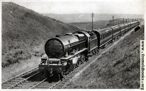 [Picture: 1.---``Royal Scot'' train, near Shap summit, Engine No. 6134 ``Samson'']