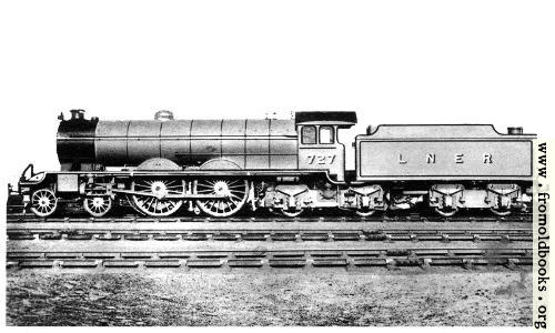 [Picture: Re-constructed ``Atlantic'' Type Locomotive]