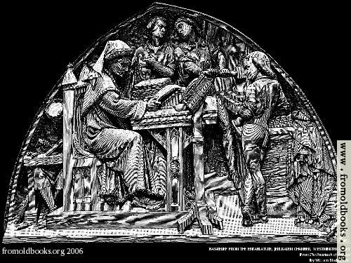 [Picture: Bas-Relief From the Entablature, Jerusalem Chamber, Westminster Abbey]