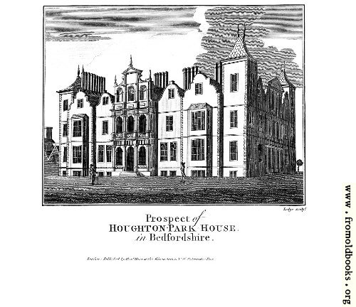 [Picture: Prospect of Houghton-Park-House in Bedfordshire]