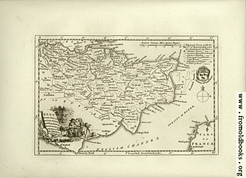 [Picture: Antique Map of Kent]