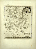 Antique Map of Bedfordshire