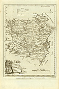 Antique Map of Connaught