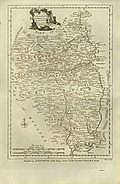 Antique Map of Leinster