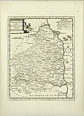 Antique Map of Northumberland