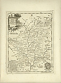 Antique Map of Worcestershire
