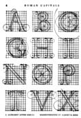 1.?Alphabet After Serlio, Reconstructed by Albert R. Ross.