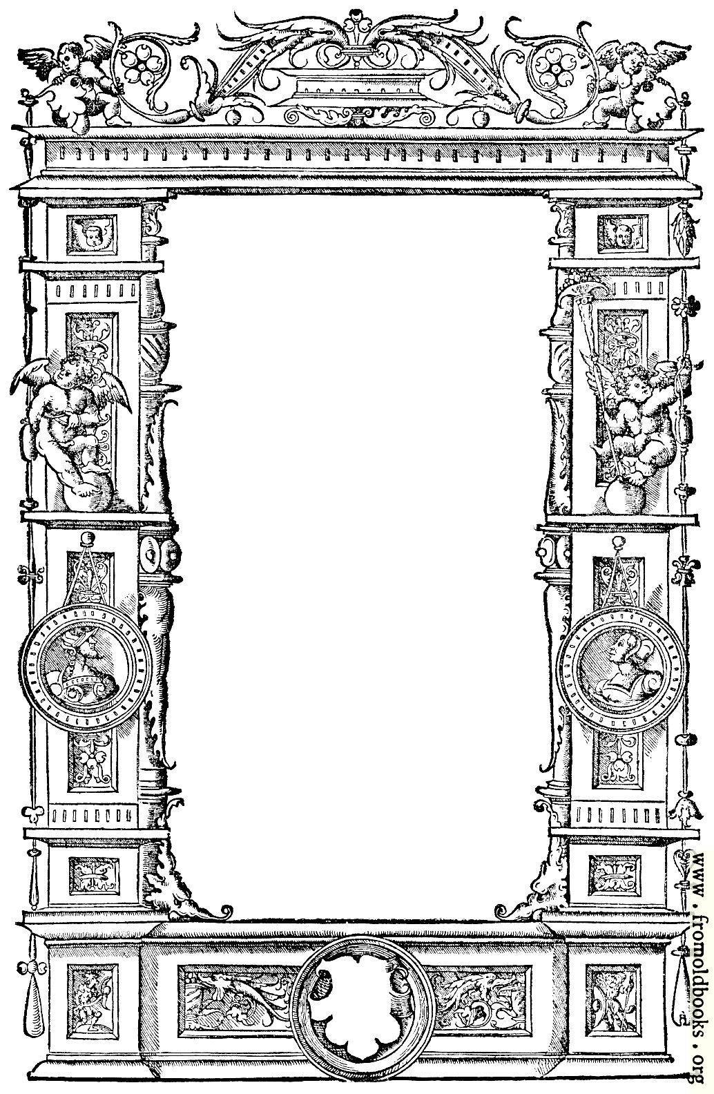 [Picture: 8.—Ornate Renaissance Border (1536)]