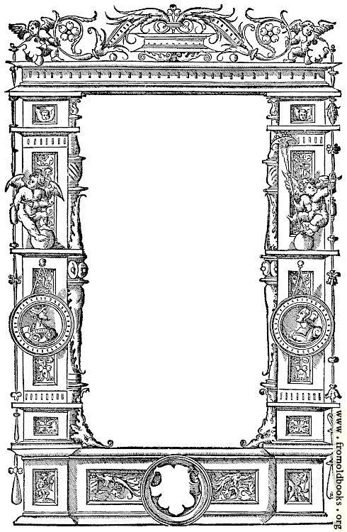 8  u2014ornate renaissance border  1536