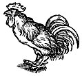 [picture: 68b.---Printer's Mark Detail: Cockerel]
