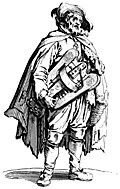154.?Beggar with Hurdygurdy.