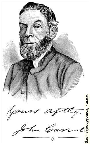 [Picture: John Carroll D..D., Portrait and Signature]