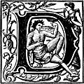 [picture: Initial Capital Letter ``D'' with Bacchus]