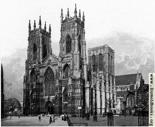 York Minster, From the South West