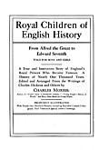 Title Page from Royal Children of English History