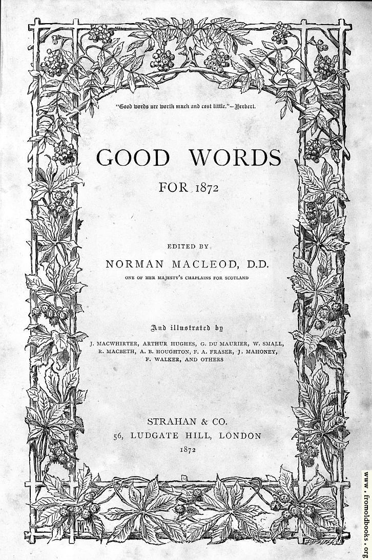 the front cover or title page of good words from 1872 726x1091 217k jpg