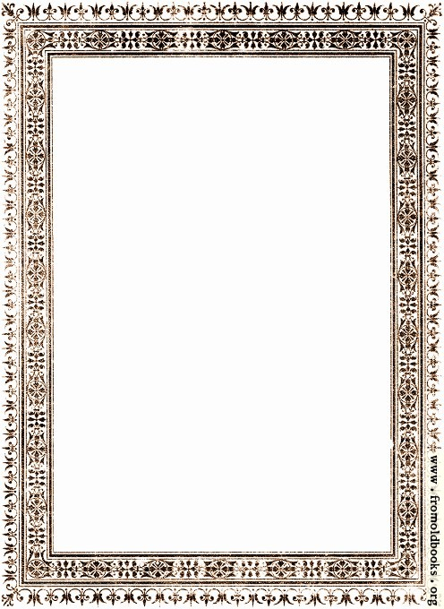 [Picture: Vintage border from The Book for All front cover]