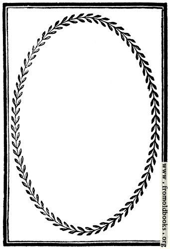 [Picture: 894.—Full-page border with laurel-leaf frame]