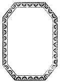 [picture: 888.---Octagonal Border with starbursts.]