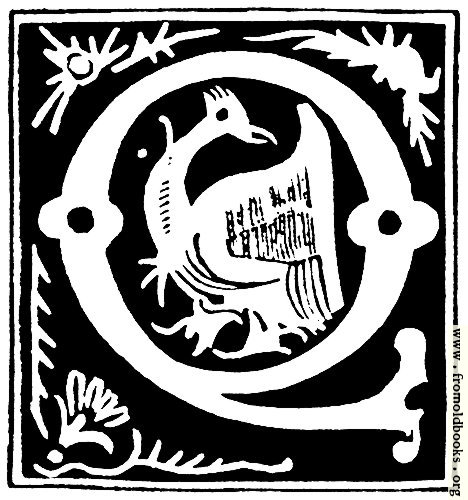 [Picture: Decorative initial letter ``Q'' from 16th Century]