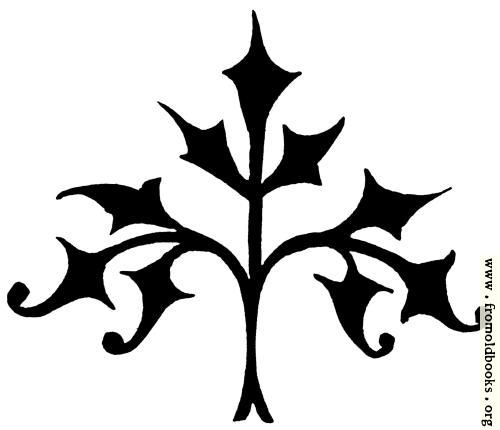 [Picture: 53.19.---Decorative stylised tree]