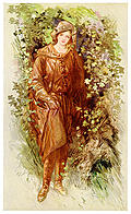 [picture: Rosalind. In an Old Monastery Garden.]