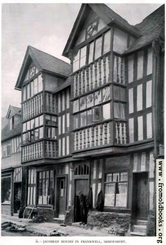 [Picture: Jacobean Houses in Frankwell, Shrewsbury]