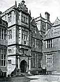 [picture: Condover Hall, Shropshire: Corner of the North Elevation]