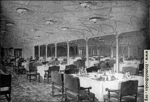 El salon-comedor de primera clase del Titanic