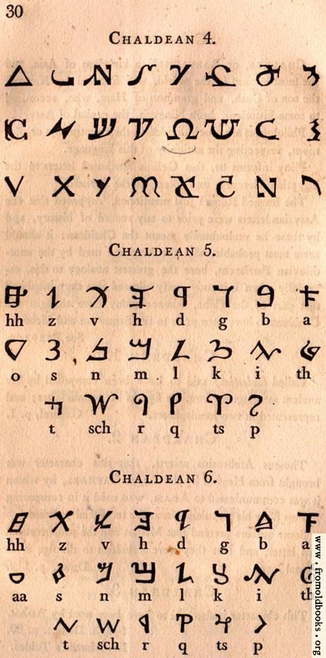[Picture: Page 30: Chaldean]